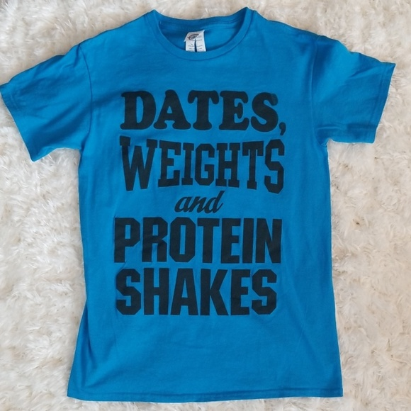 Delta Other - Dates, Weights and Protein Shakes Screen Print